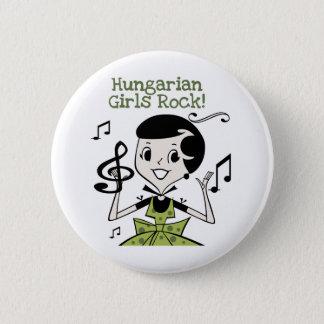 Hungarian Girls Rock Button