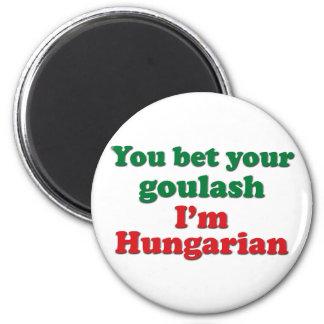 Hungarian Goulash 2 2 Inch Round Magnet