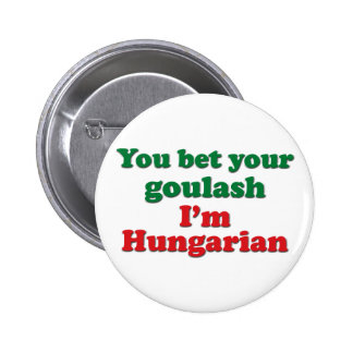 Hungarian Goulash 2 Pinback Button