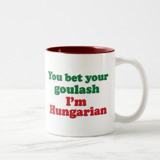 Hungarian Goulash 2 Two-Tone Coffee Mug