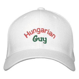 Hungarian Guy Embroidered Hats