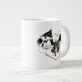 Hungarian Horntail Dragon 20 Oz Large Ceramic Coffee Mug