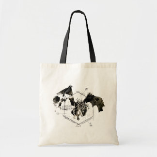Hungarian Horntail Dragon Budget Tote Bag