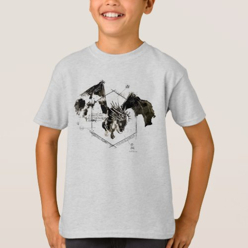 Hungarian Horntail Dragon T_Shirt