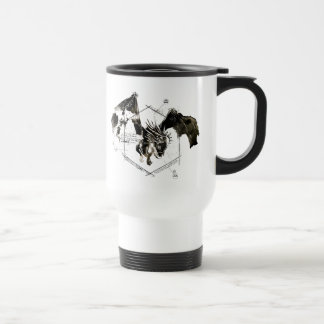 Hungarian Horntail Dragon Travel Mug