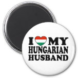 Hungarian Husband 2 Inch Round Magnet
