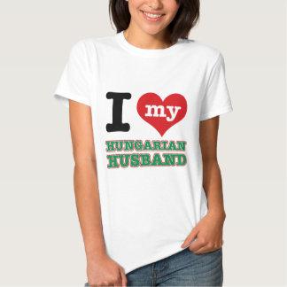 Hungarian I heart designs T-shirt