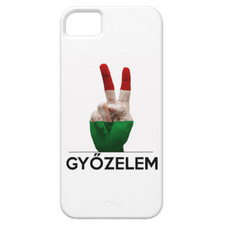 Hungarian Magyar victory hand v-shape peace finger iPhone 5 Cover