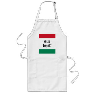 """Hungarian """"Mit fozol?"""" (What's cooking?) Apron"""