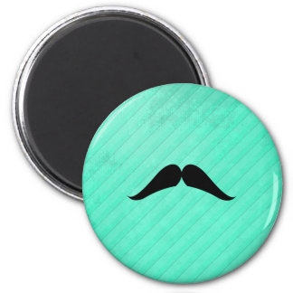 Hungarian Mustache 2 Inch Round Magnet