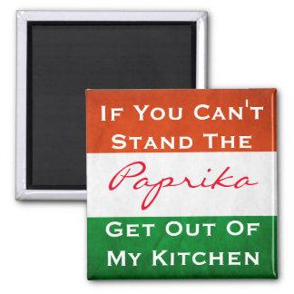 Hungarian Paprika w/Flag Magnet