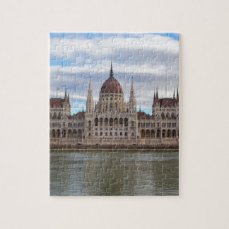 Hungarian Parliament Budapest by day Jigsaw Puzzle