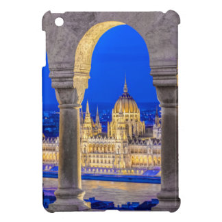 Hungarian Parliament Building at Dusk Cover For The iPad Mini