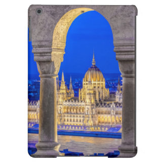 Hungarian Parliament Building at Dusk iPad Air Covers