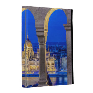 Hungarian Parliament Building at Dusk iPad Folio Cases