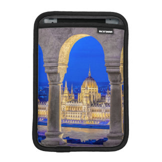 Hungarian Parliament Building at Dusk Sleeve For iPad Mini