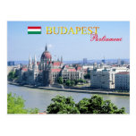 Hungarian Parliament Building, Budapest Post Card