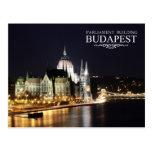 Hungarian Parliament Building, Budapest Postcard
