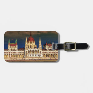 Hungarian Parliament Building in Budapest, Hungary Bag Tag