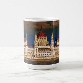 Hungarian Parliament Building in Budapest, Hungary Coffee Mug