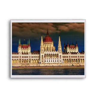 Hungarian Parliament Building in Budapest, Hungary Envelope