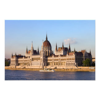 Hungarian Parliament Building in Budapest Photograph