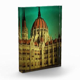 Hungarian parliament building painting award