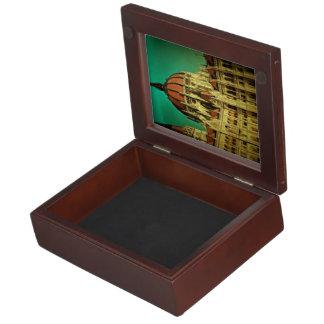 Hungarian parliament building painting keepsake box