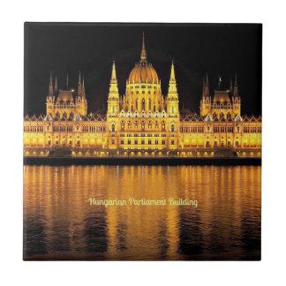 Hungarian Parliament Building Ceramic Tile