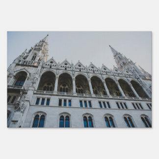 Hungarian Parliament building Signs