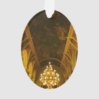 Hungarian Parliament interior Ornament