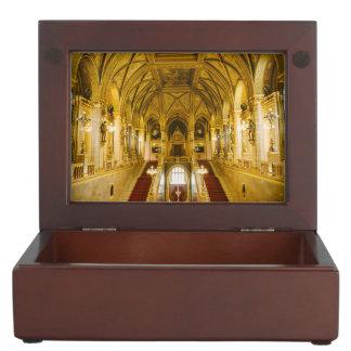 Hungarian Parliament interior Memory Boxes