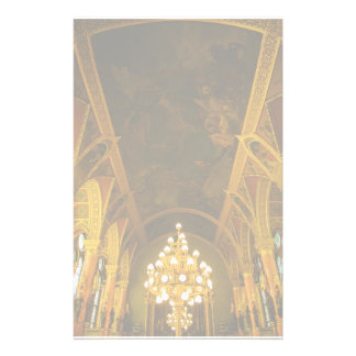 Hungarian Parliament interior Customized Stationery
