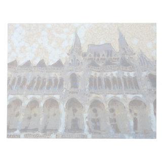 Hungarian Parliament painting Notepad