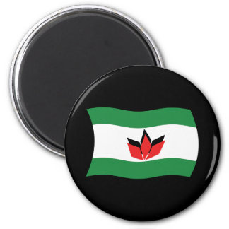 Hungarian People Flag Magnet