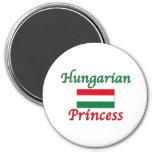 Hungarian Princess Fridge Magnet