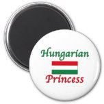 Hungarian Princess Fridge Magnets