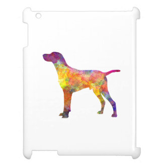 Hungarian Shorthaired Pointer in watercolor Cover For The iPad 2 3 4