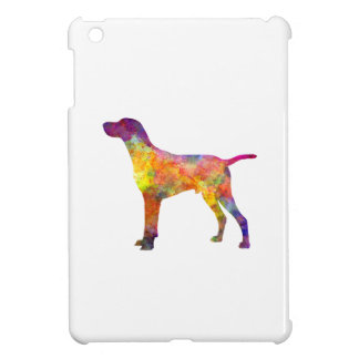 Hungarian Shorthaired Pointer in watercolor iPad Mini Covers