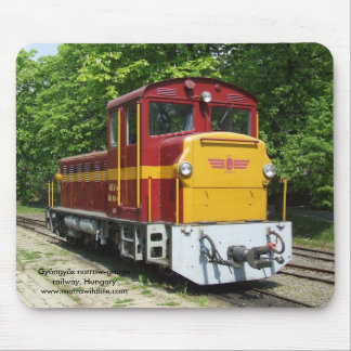 Hungarian Train Mousepad