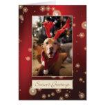 Hungarian Vizsla Christmas Card 008