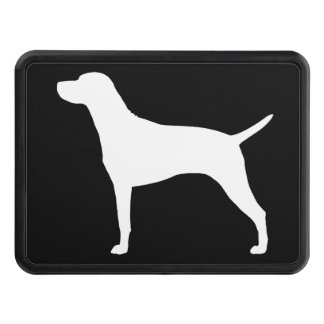 Hungarian Vizsla Silhouette Tow Hitch Cover