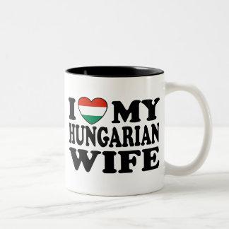Hungarian Wife Two-Tone Coffee Mug