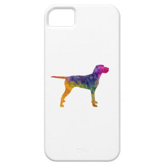 Hungarian Wirehaired Vizsla in watercolor iPhone SE/5/5s Case