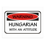 Hungarian With An Attitude Postcard