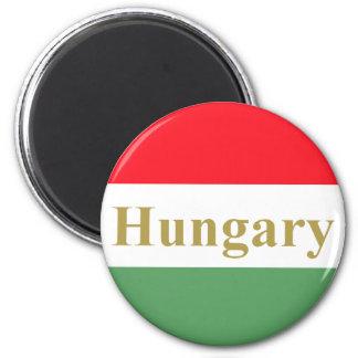 Hungary 2 Inch Round Magnet