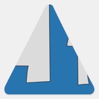 Hungary #2 triangle sticker
