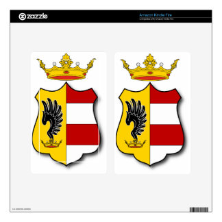 Hungary #3 decals for kindle fire