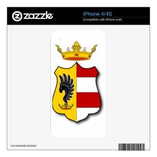 Hungary #3 skin for iPhone 4