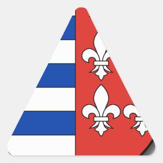 Hungary #4 triangle sticker